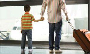 разрешение за пътуване на дете в чужбина